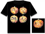 KISS T-Shirt - Halloween, (size L)