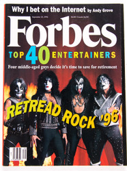 KISS Magazine - Forbes 1997