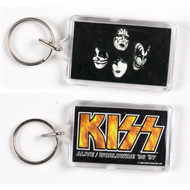 KISS Keychain - Alive Worldwide Faces