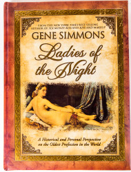 Gene Simmons - Ladies of the Night book, AUTOGRAPHED