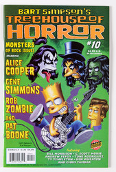 KISS Comic - Bart Simpson's Treehouse of Horror