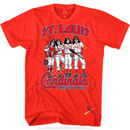 KISS T-Shirt - St Louis Cardinals MLB Baseball