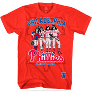 KISS T-Shirt - Philadelphia Phillies MLB Baseball