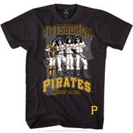 KISS T-Shirt - Pittsburgh Pirates MLB Baseball