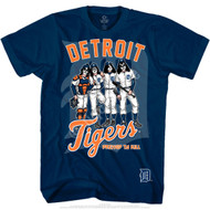 KISS T-Shirt - Detroit Tigers MLB Baseball