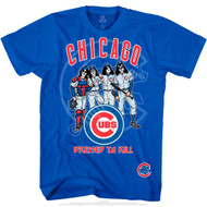 KISS T-Shirt - Chicago Cubs MLB Baseball