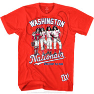 KISS T-Shirt - Washington Nationals MLB Baseball
