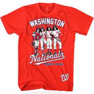 KISS T-Shirt - Washington Nationals MLB Baseball