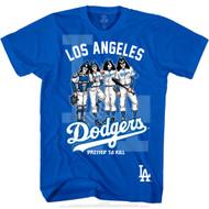 KISS T-Shirt - Los Angeles Dodgers MLB Baseball