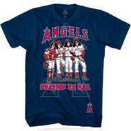 KISS T-Shirt - Los Angeles Angels MLB Baseball