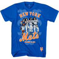 KISS T-Shirt - New York Mets MLB Baseball