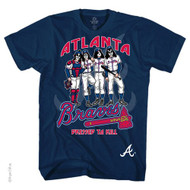 KISS T-Shirt - Atlanta Braves MLB Baseball