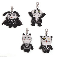 KISS Gund Ugly Dolls, backpack clips - set of 4