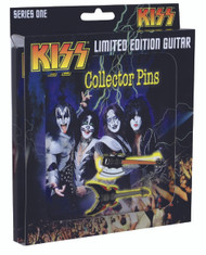KISS Guitar Collector Pins set