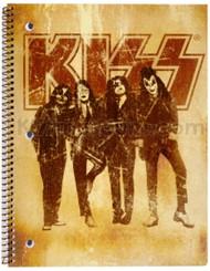 KISS Spiral Notebook - Dressed to Kill - MINI