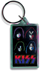 KISS Keychain - Solo Faces