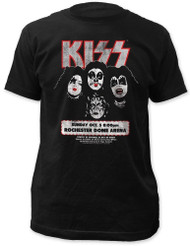 KISS T-Shirt - Rochester '75 - SIZE XL