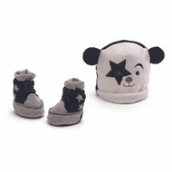 KISS Gund Baby Cap & Booties set - Starchild