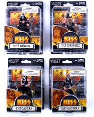 KISS Figures - Super Stars - set of 4