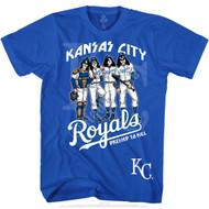 KISS T-Shirt - Kansas City Royals MLB Baseball
