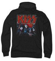 KISS Hooded Sweat Shirt - KISS Kings '76