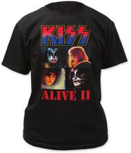 KISS T-Shirt - Alive II Album Cover '77