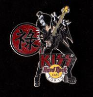 KISS Hard Rock Cafe Pin - Tokyo Gene Alive