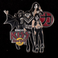 KISS Hard Rock Cafe Pin - Tokyo, Hotter Than Hell Standing