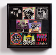 KISS Pins - Album Cover series, set of 8