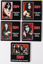 KISS CD - Mini 3-inch single, Strutter demo version, set of 5