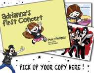 Adrianna's First (KISS) Concert - hardcover book by Petey Mongelli
