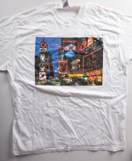 KISS T-Shirt - Playboy Collage (new) size XL