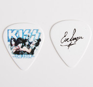 KISS Guitar Pick - The Tour, group photo Eric