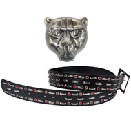 KISS Alive Costume - Peter Criss Cat Buckle and Belt set