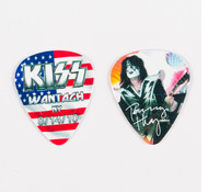 KISS Guitar Pick - Wantagh Flag, Tommy 2010
