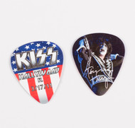 KISS Guitar Pick - Hollywood Fl Flag, Tommy 2011