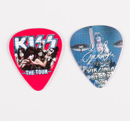 KISS Guitar Pick - Virginia Beach The Tour, Eric 2012