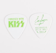KISS Guitar Pick - I Kruised with KISS, Eric 2013