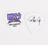 KISS Guitar Pick - Monster Purple Logo, Paul 2013