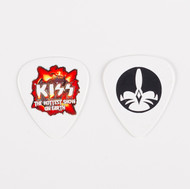 KISS Guitar Pick - Hottest Show on Earth, Catman Icon