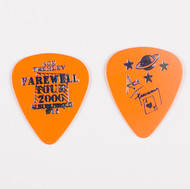 KISS Guitar Pick - Ace Frehley City Pick, Albuquerque 2001 orange