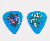 KISS Guitar Pick - Ace Frehley City Pick, Austin 2001 blue