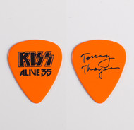 KISS Guitar Pick - Alive 35 Tour, Tommy orange