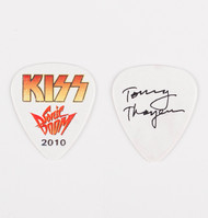 KISS Guitar Pick - Sonic Boom Tour, Tommy white