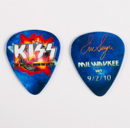 KISS Guitar Pick - Hottest Show on Earth 2010, Eric Milwaukee