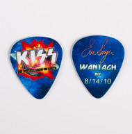 KISS Guitar Pick - Hottest Show on Earth 2010, Eric Wantagh