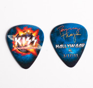 KISS Guitar Pick - Hottest Show on Earth 2011, Tommy Hollywood