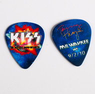 KISS Guitar Pick - Hottest Show on Earth 2010, Tommy Milwaukee