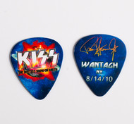 KISS Guitar Pick - Hottest Show on Earth 2010, Paul Wantagh