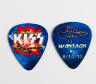 KISS Guitar Pick - Hottest Show on Earth 2010, Gene Wantagh